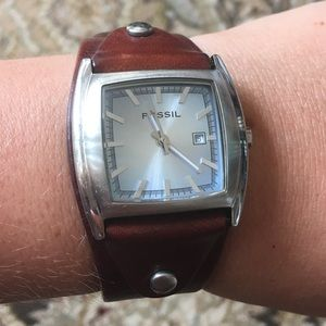 Fossil Genuine Leather Watch